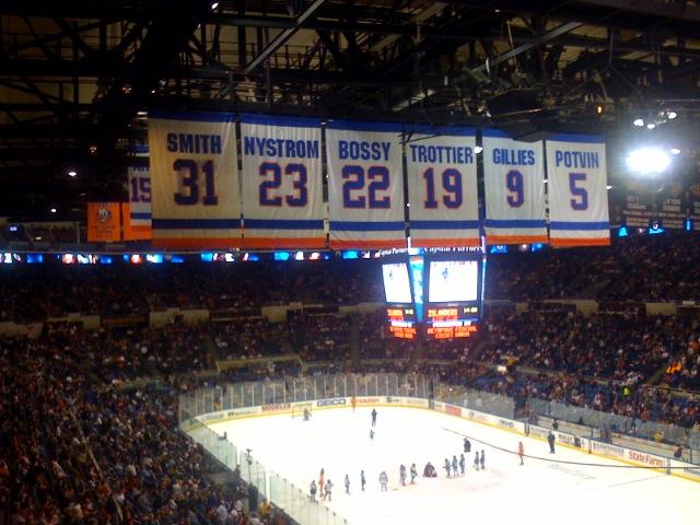 Islanders retired numbers