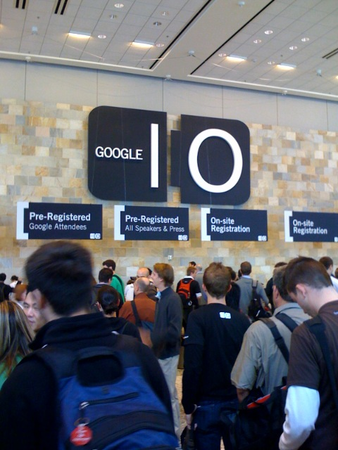 Google I/O conference, San Francisco