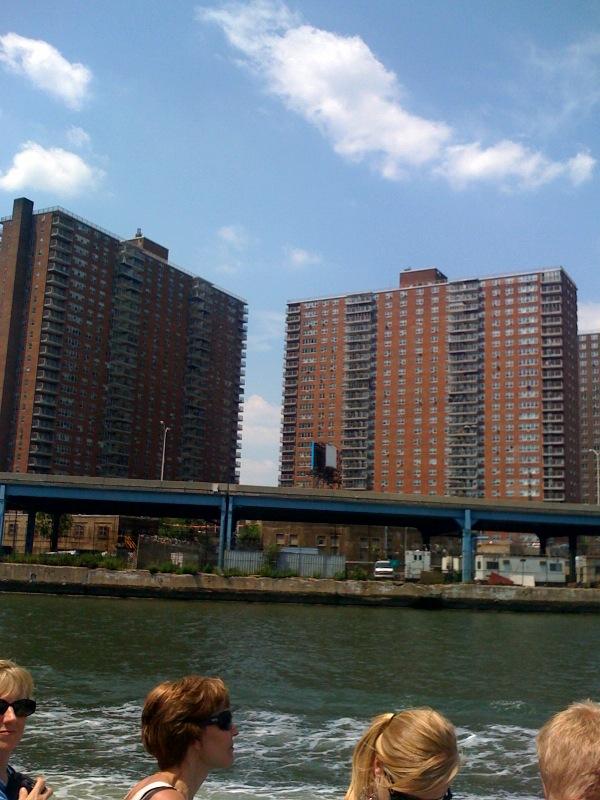 Where the Polo Grounds stood, Manhattan