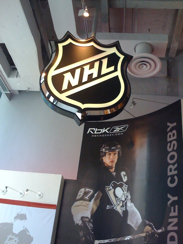 NHL Store, Midtown Manhattan